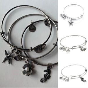Alex and Ani | 3 Bracelets | Silver